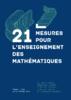 21 mesures pour l'enseignement des mathématiques : Rapport - application/pdf